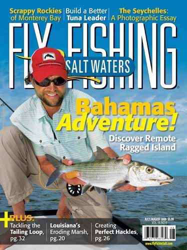 Fly fishing in for Saltwater fly fishing magazine