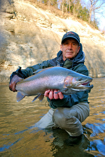 Destination ohio fly fishing for enormous steelhead and for Trout fishing in ohio