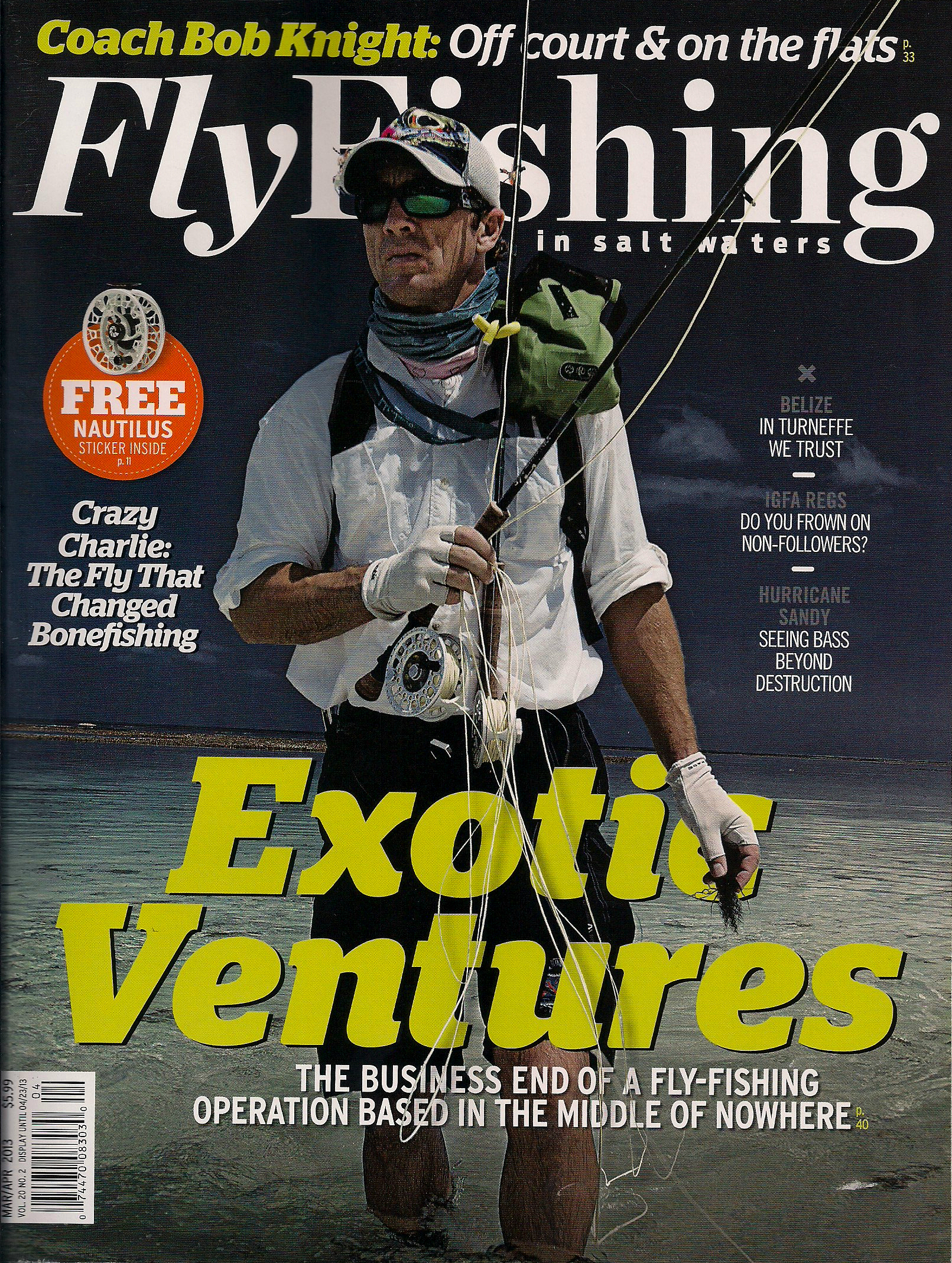 Magazine revamp the new fly fishing in salt waters shines for Saltwater fly fishing magazine