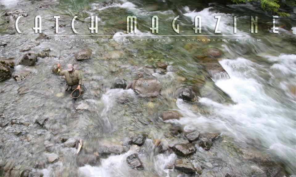 New issue of catch magazine travel to sweden chile for Fly fishing films