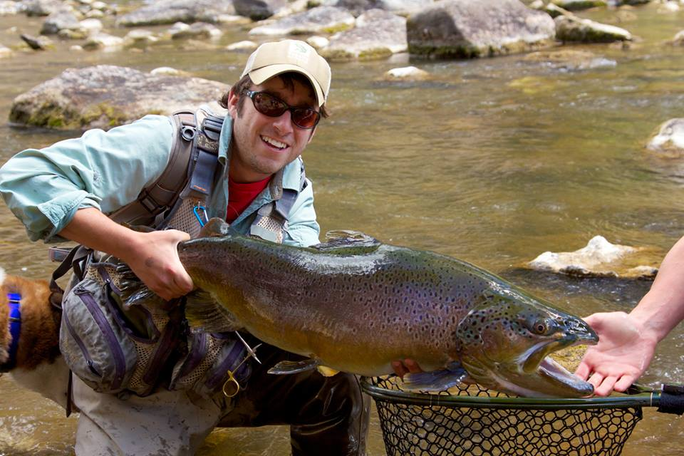 Photo danny frank of delta trout force lands massive for Best fishing in colorado