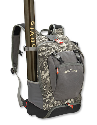 Gear orvis safe passage day pack for fly fishing on the for Fly fishing packs