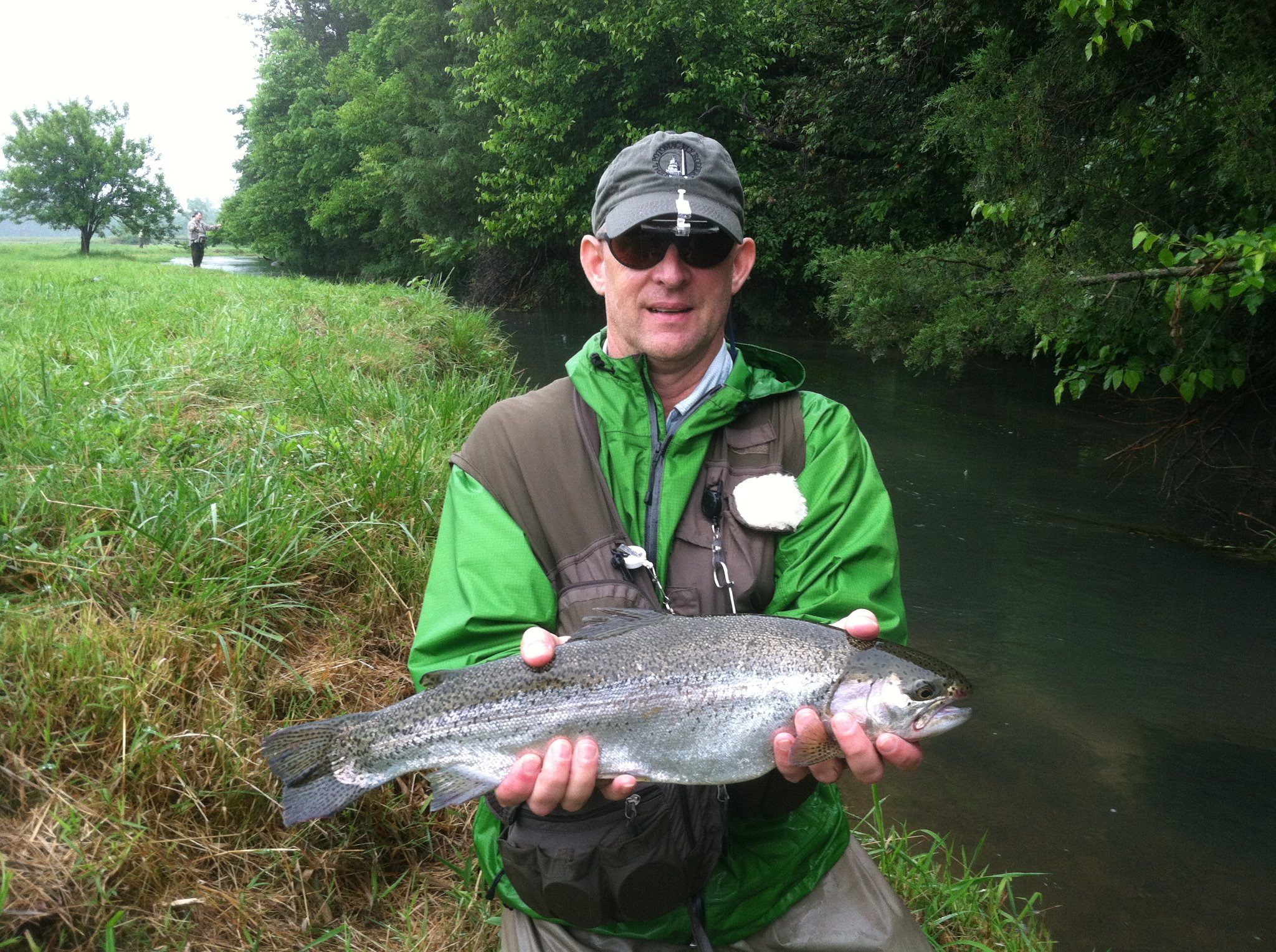 Destination virginia fly fishing for massive musky trout for Shenandoah national park fishing
