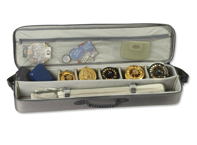 Gear safe passage carry it all rod and gear case from for Fishing pole travel case