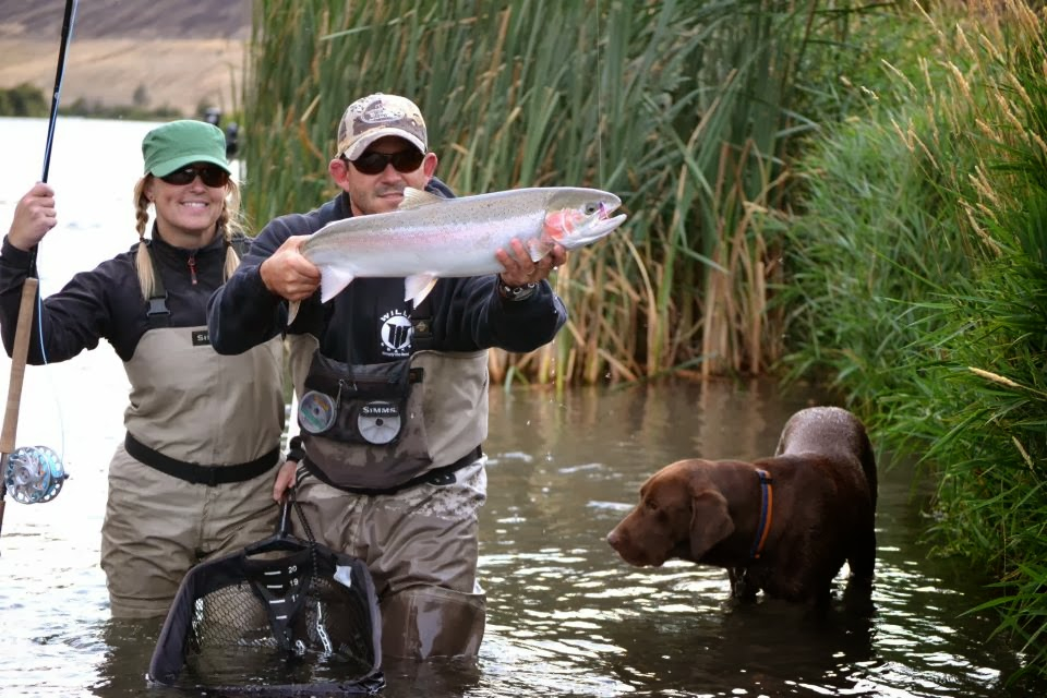 Fly fishing guide profile sam sickles of steelhead for Northwest fly fishing outfitters