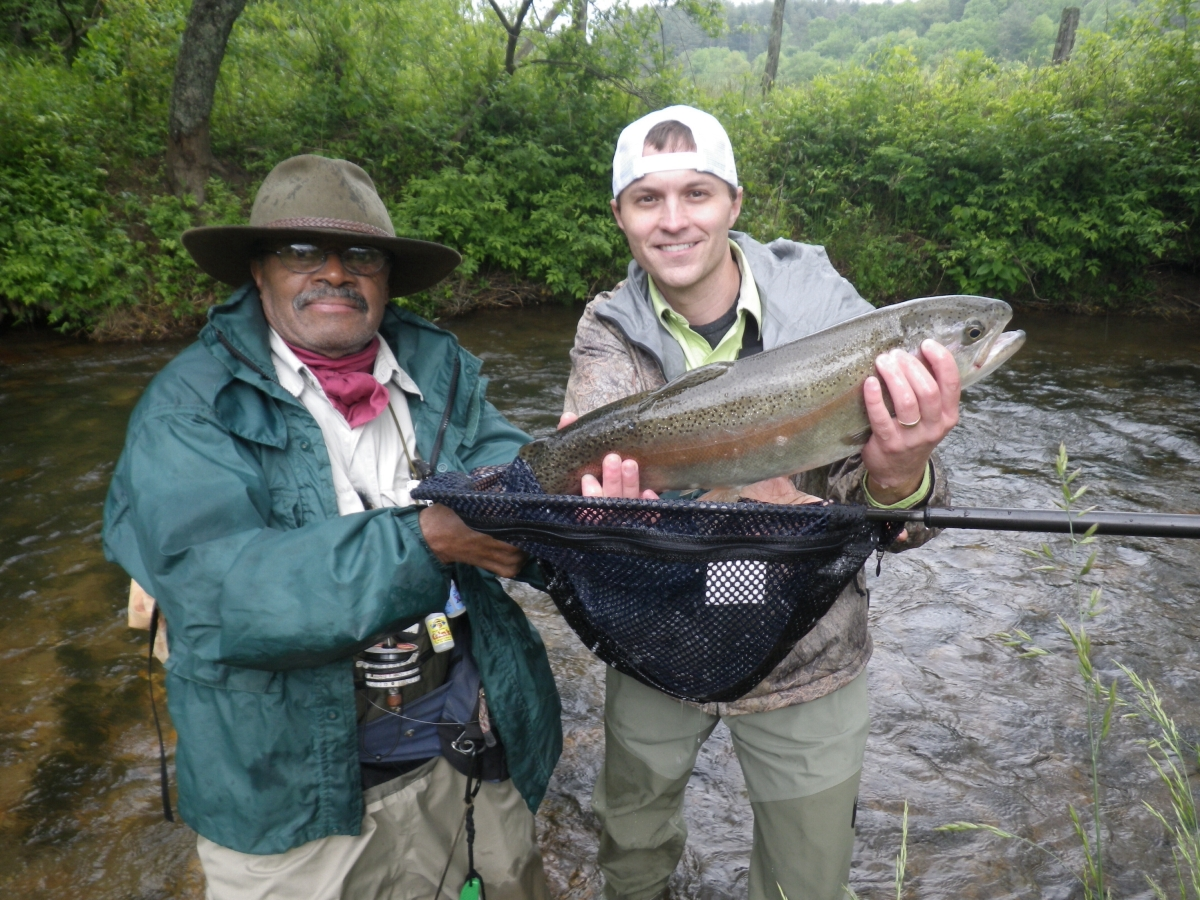 Fly fishing guide profile gene rutkowski of fly fish blue for Fly fishing blue ridge ga