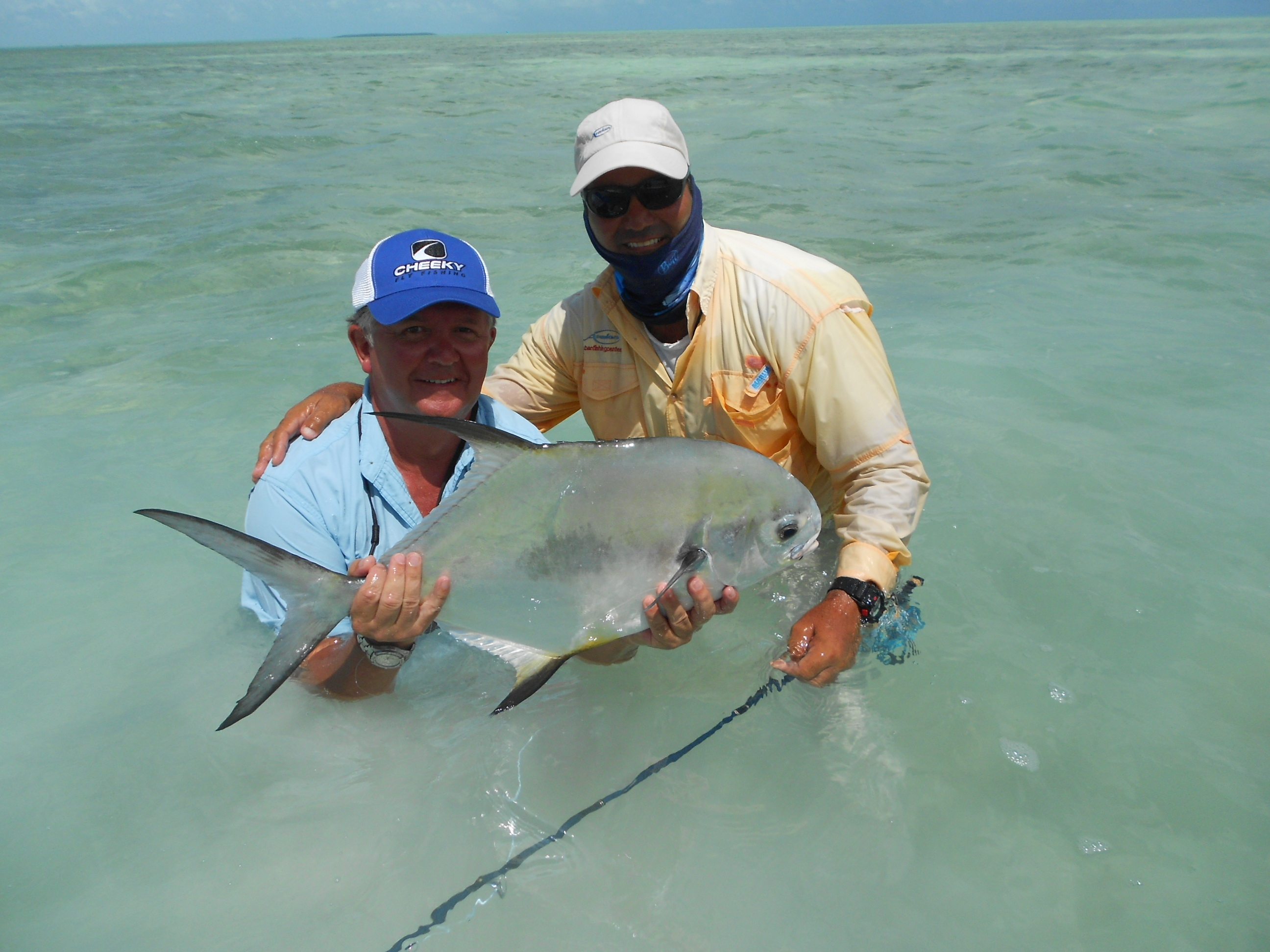Permit the venturing angler for Permit fly fishing