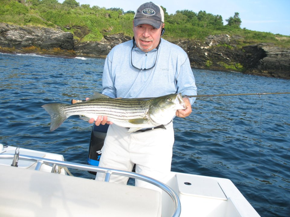 Fly fishing guide profile rene letourneau of on the rocks for Fishing in rhode island