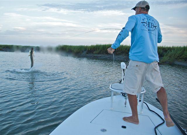 Fly fishing guide profile capt scott wagner of savannah for Flying fish savannah ga