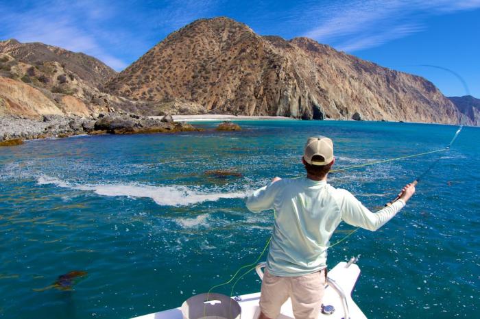 Fly Fishing Catalina - John Sherman