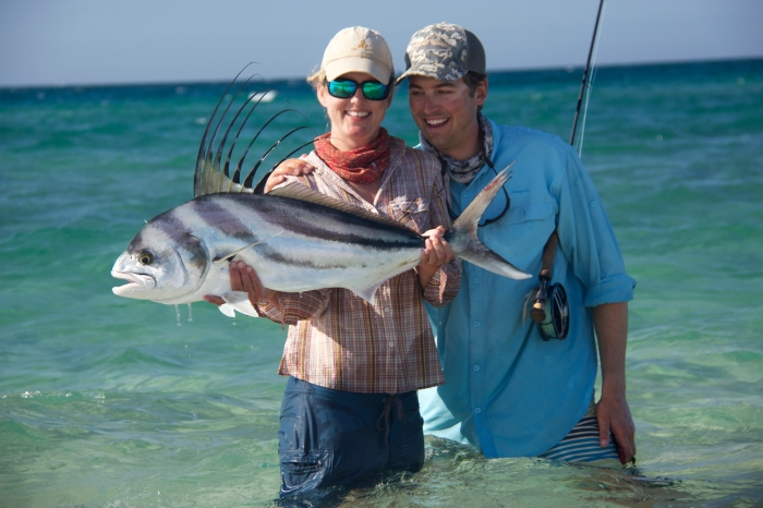 Traveling angler profile fly fishing the world with kate for Taylor fly fishing