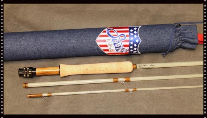 Chance to win a seele zeitlos 805 pro fiberglass fly rod for Fiberglass fishing rods