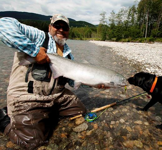 Guide profile jeff brazda of brazda s fly fishing in for Fishing guides washington state