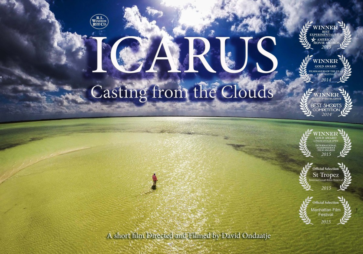 New film from winston icarus casting from the clouds for International fly fishing film festival