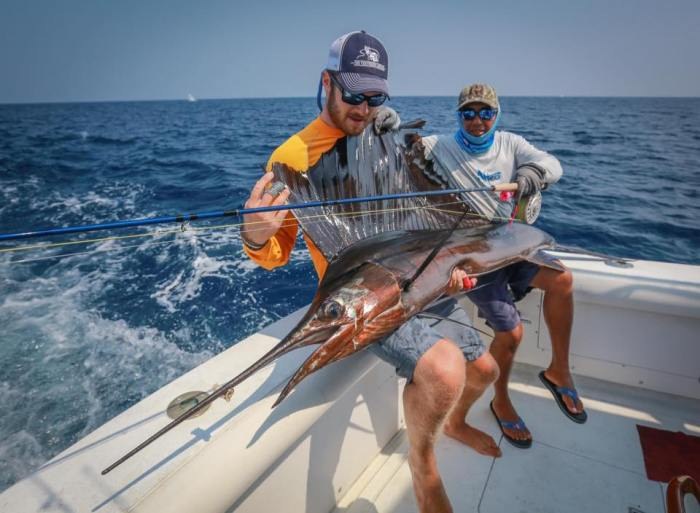 Christiaan Pretorius sailfish