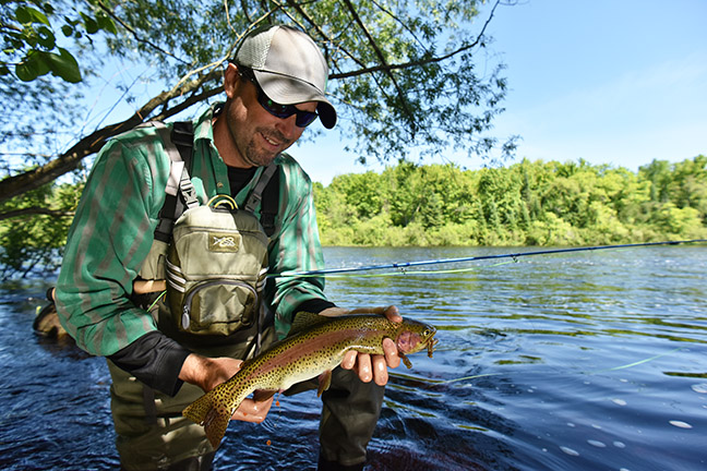 St. Croix fly fishing