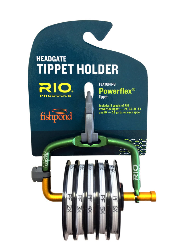Fishpond and rio products collaborate on tippet loaded for Fishpond products