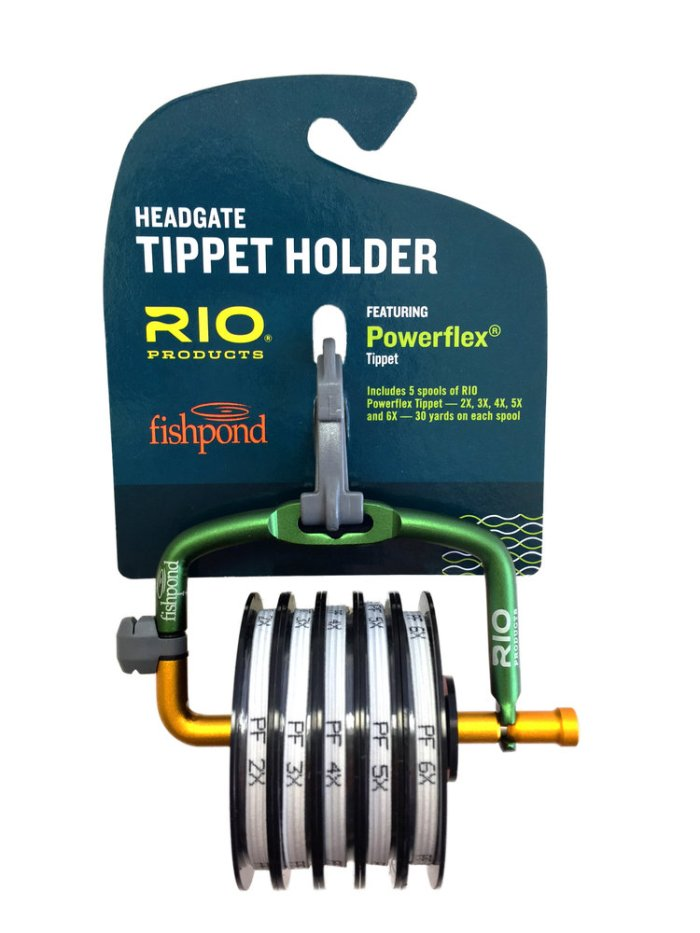 Fishpond and rio products collaborate on tippet loaded for Fly fishing tippet