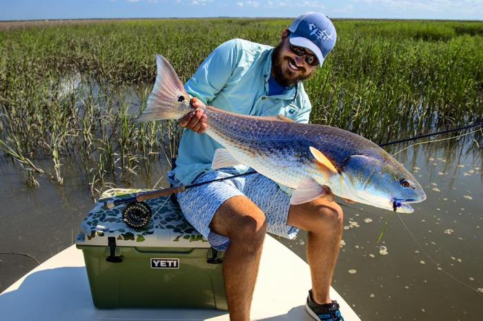 Shafter Johnston redfish