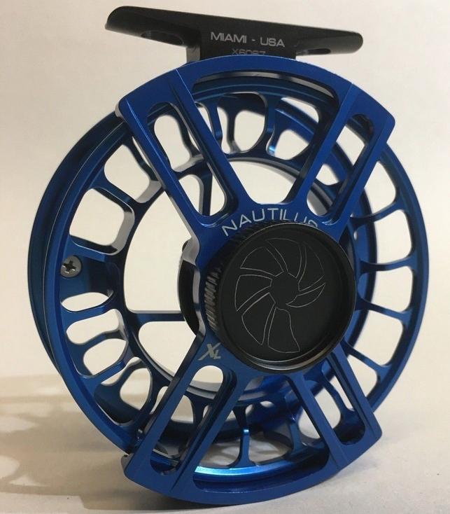 Nautilus reel blue