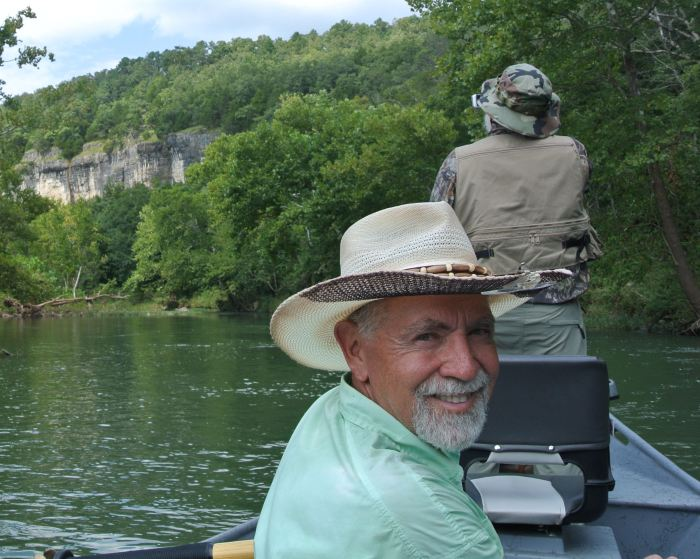 Guide profile fly fishing missouri with sam potter the for Trout fishing in missouri