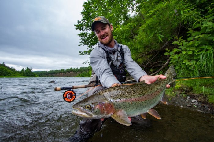 Christiaan Pretorius trout