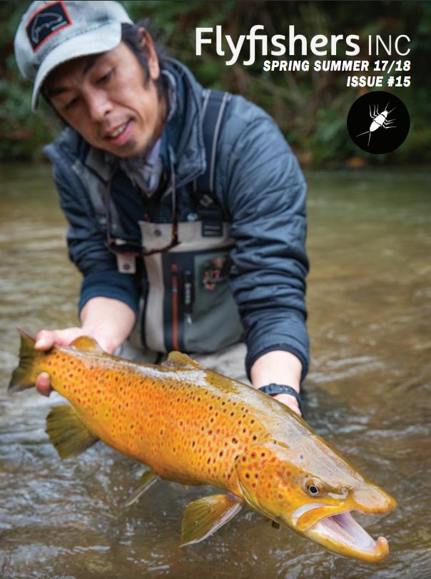 The venturing angler for Eastern fly fishing magazine