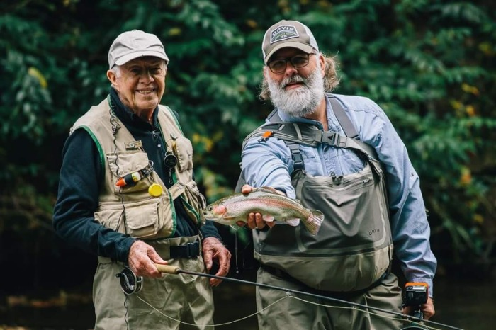 James Dudley fly fishing 2