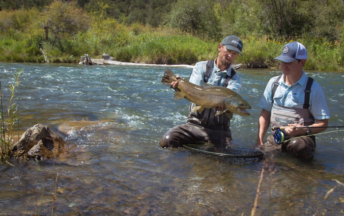 Matt McCannel fly fishing guide